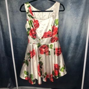 Dresses & Skirts - Cutest Satin and Tulle Floral Dress